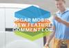 Sugar mobile comment log added